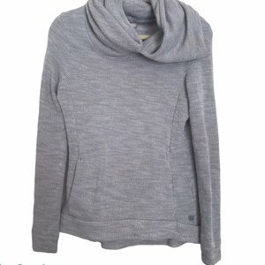 Bench cowl neck gray pullover sweater XS